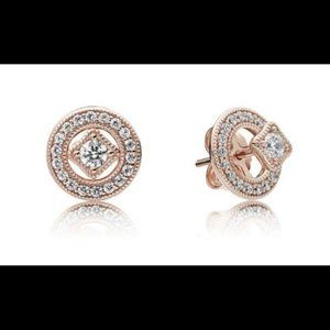 Gorgeous  Rose Gold Vintage Allure Earrings